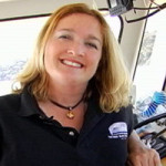 Your Captain Maggie of The Angel Island Tiburon Ferry Company