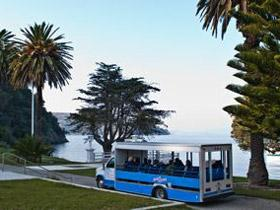 Angel Island State Park Historic open air Tram Tour.