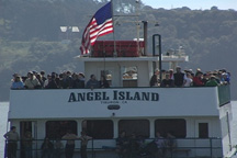 "Check out Angel Island Ferry's boatload of fun events this month...""and take a ride with us!"""
