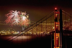 Join us on 5/27 for front row seats to watch the Golden Gate Bridge 75th Anniversary Fireworks