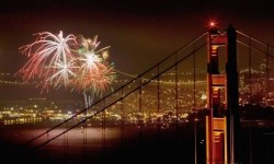 Hop on Angel Island Ferry's July 4th Firework Cruise to watch the San Francisco fireworks show.