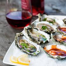 Angel Island Ferry invites you to enjoy Hog Island Oysters on Angel Island's Cantina Deck.