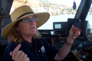 Captain Maggie McDonogh gives an interview with Save The Bay on the return of Harbor Porpoises to SF Bay