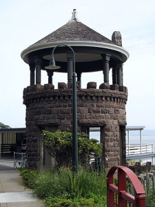 Lyford's Stone Tower, Paradise Drive, Tiburon CA