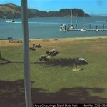 AngelCam of Ayala Cove Angel Island State Park compliments of Angel Island Conservancy