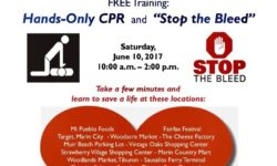 Marin County EMS Free CPR Training at Angel Island Ferry Dock