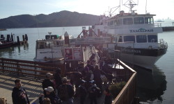 Hop on Angel Island Ferry for family fun... with bikes riding for just a buck!