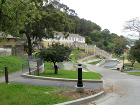 Angel Island Immigration Station.