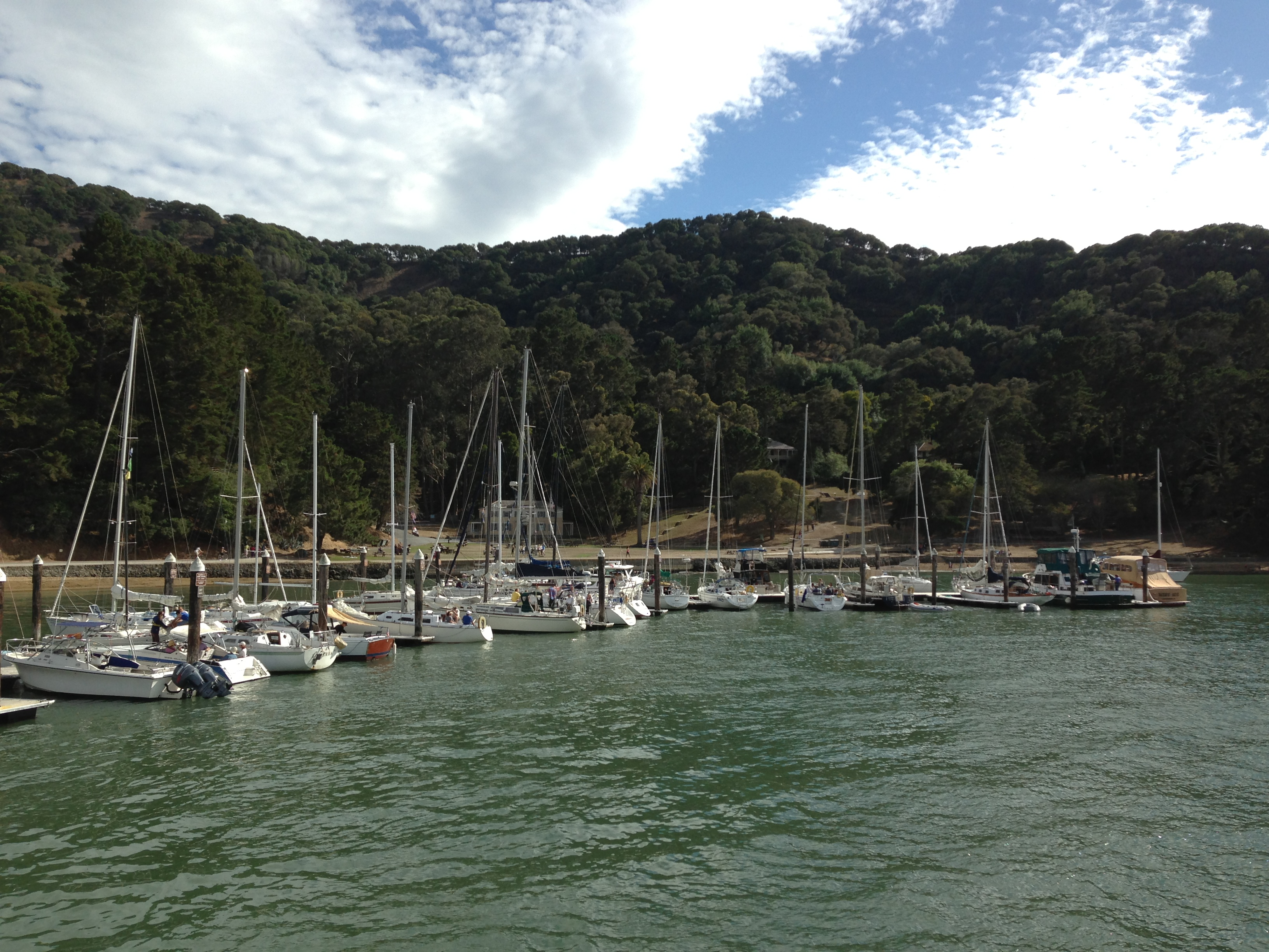 getaway to 'paradise' 7 days a week with angel island ferry