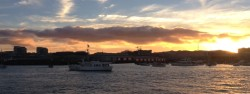 Watch SF Giants home games on-board an Angel Island Ferry Cruise to McCovey Cove.