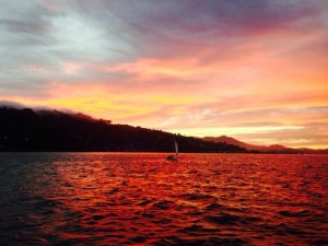 Take in the sights on an Angel Island Tiburon Ferry's Sunset Cruise on San Francisco Bay!