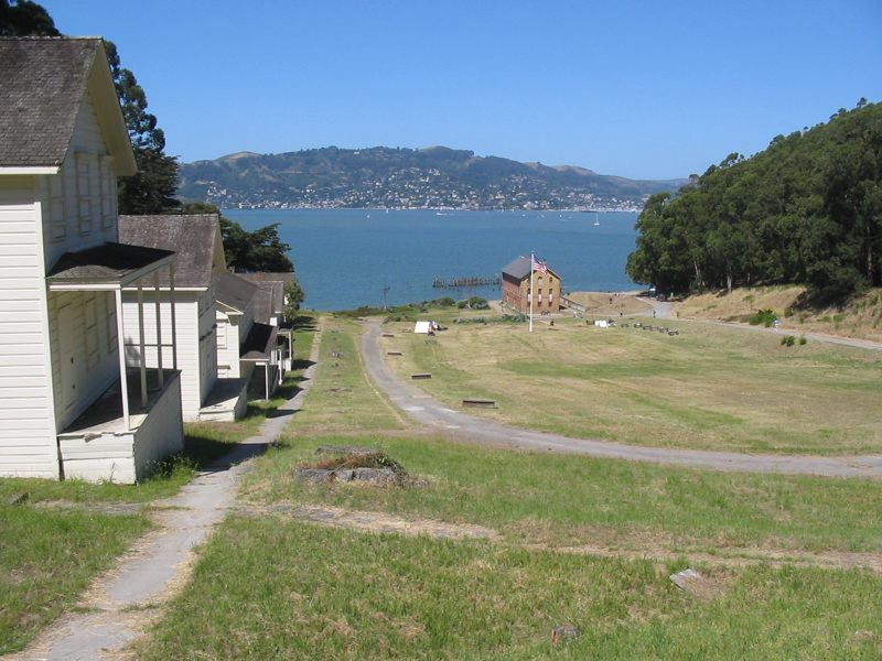 Angel Island Civil War Days: Visitors to Camp Reynolds can become recruits to the Union Army and try their hand at baking army bread, meeting an Army Surveyor (Mapmaker), learning the marching drill, and other soldierly skills.