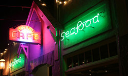 """Sam's Anchor Cafe, invites you to Join in the """"Friday Nights on Main"""" Street FUN with Live Music and Dancing in the Streets!"""