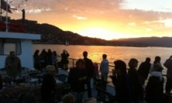 "Hop on the ""Angel Island"" for Sunset Cruises, Escape to Alcatraz Cruises Labor Day Weekend."