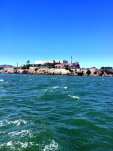 """Escape to Alcatraz"" on an Angel Island Ferry Alcatraz Circling Tour Cruise."