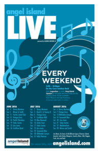 Angel Island live Music line-up