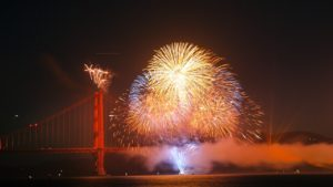 Book your San Francisco 4th of July Fireworks Cruise with Angel Island Ferry.