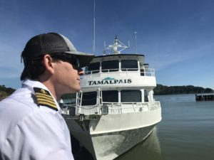 Angel Island Ferry's Luxury Charter Vessel - The Tamalpais
