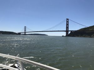 Golden Gate Bridge Cruise with Angel Island - Tiburon Ferry