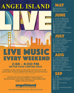 Angel Island Summer Live Music Line-up