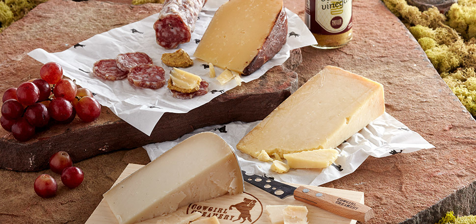 Create the perfect Mother's Day picnic with an assortment of Cowgirl Creamery cheeses. Photo Credits: Cowgirlcreamery.com