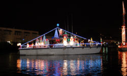 "Captain Maggie & Crew invite you to get on board for the Annual ""SF Lights"" Lighted Parade of Boats Cruise."