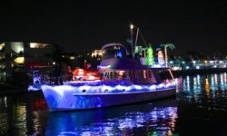 Captain Maggie & Crew invite you to get on board for the Annual Sausalito Lighted Parade of Boats & Fireworks Show.