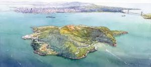 Explore Angel Island on Jan. 1, 2018 with a guided hike around the Island's perimeter road.