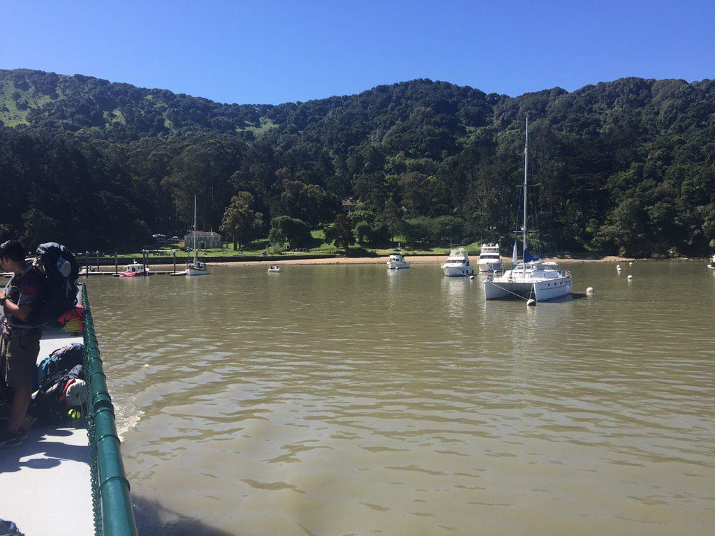 Ayala Cove - Angel Island Ferry