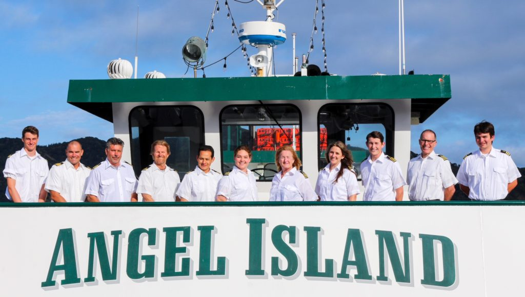 Angel Island Ferry Crew