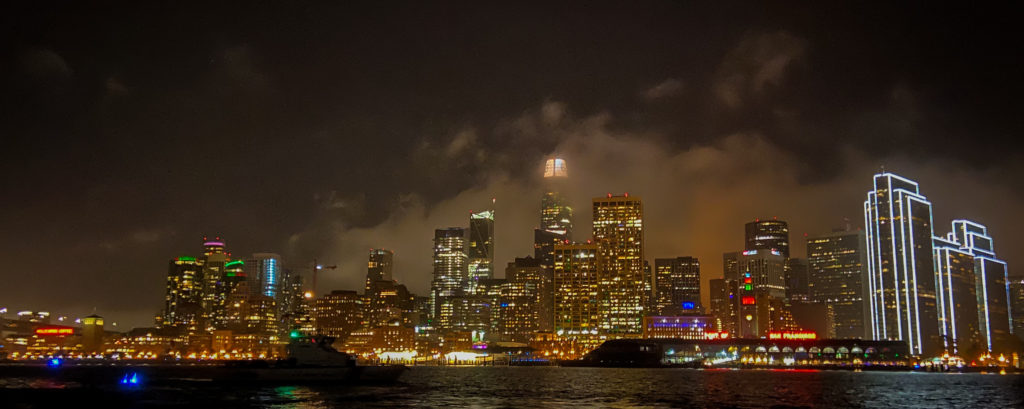 Angel Island Ferry Bay Lights Cruise along the San Francisco Waterfront