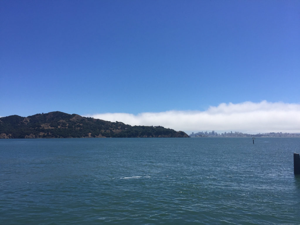 """Getaway without going away"" with a day trip to Angel Island with Angel Island Ferry"