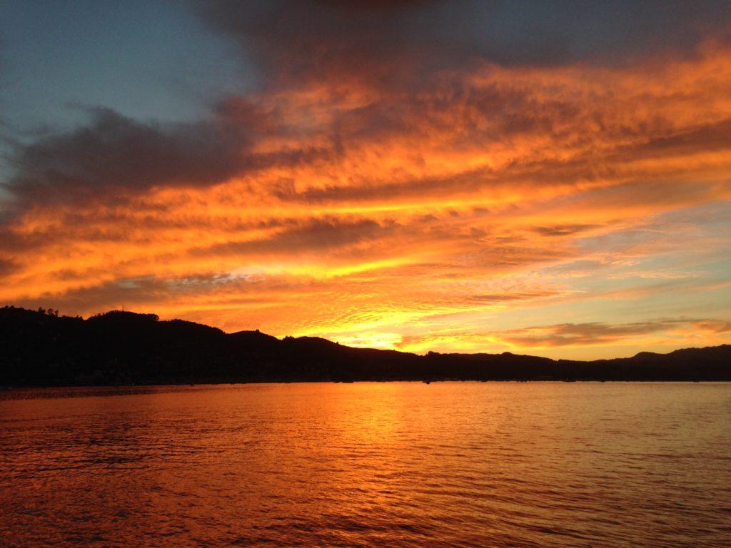 Angel Island Ferry Sunset Cruise on San Francisco Bay